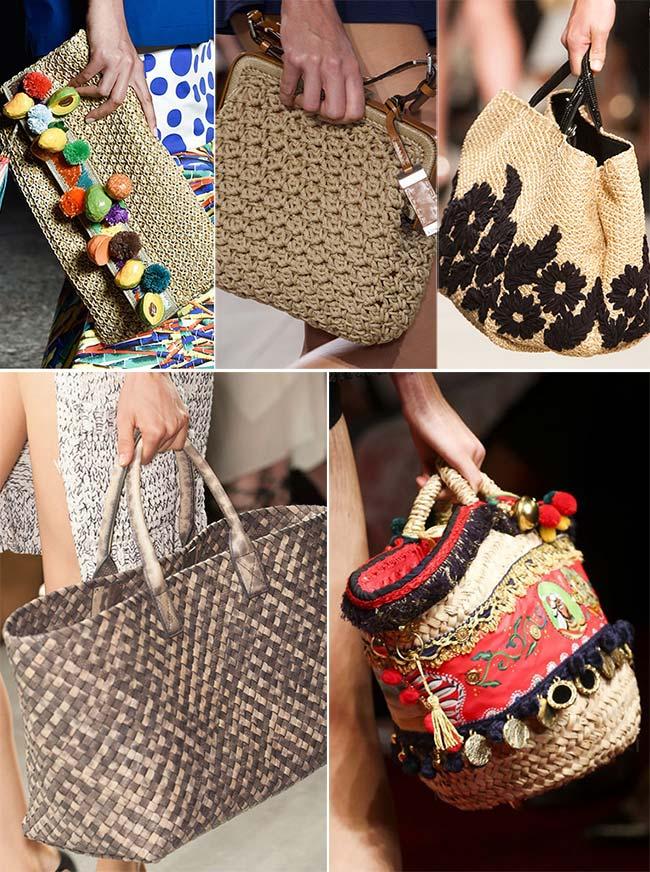 Bolsos de tela y artesanales