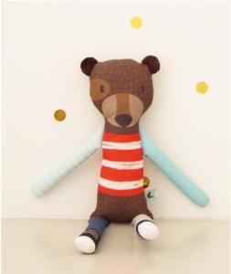 pedro el oso gloton, la pequeña galeria