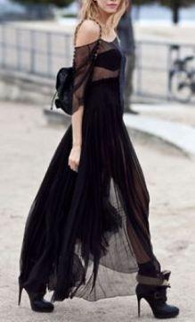 Maxi Vestido Negro